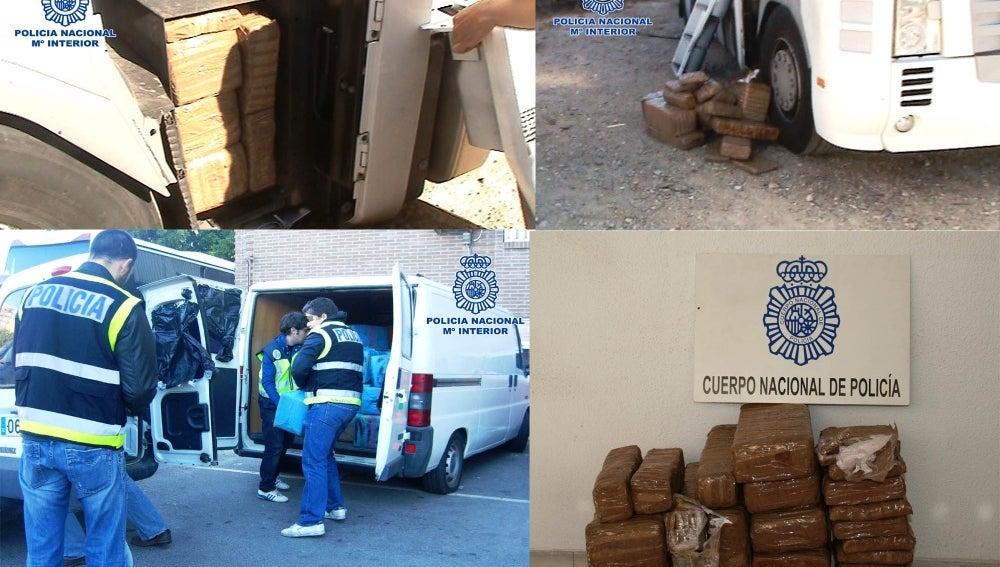 Desarticulada una organización de narcotraficantes