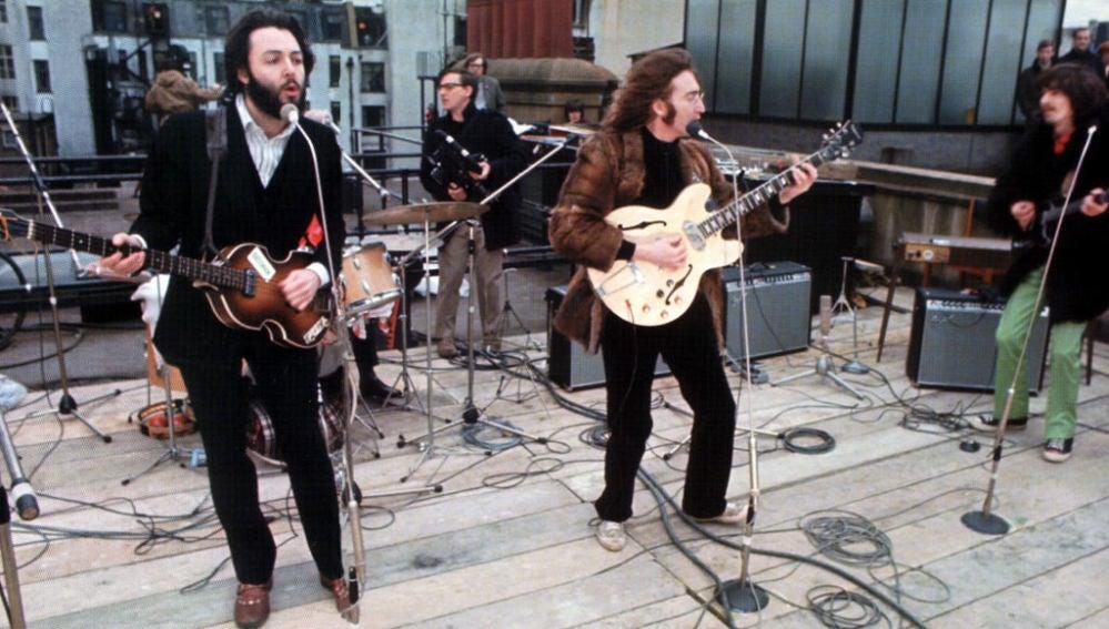Los Beatles en su último concierto en directo