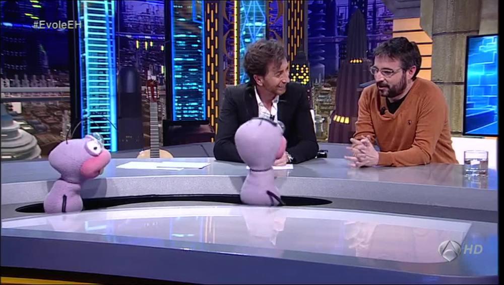 Jordi Évole con Trancas y Barrancas