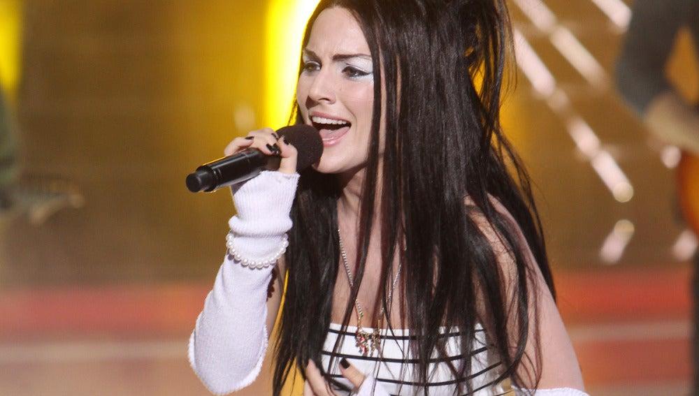 Gala 12 | Edurne imita a Evanescence