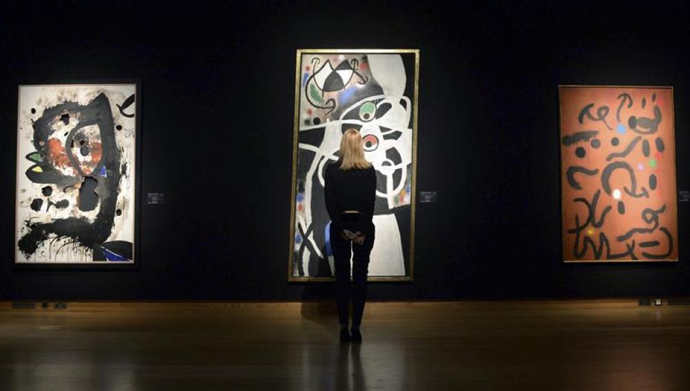 Se iban a subastar 85 piezas de Joan Miró.