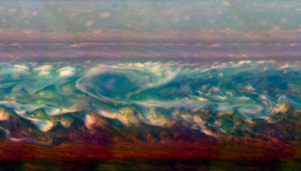 Gran tormenta en Saturno