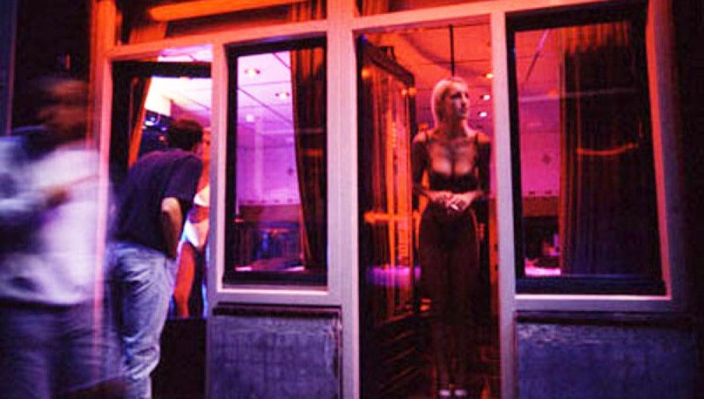 la prostitución barrio rojo amsterdam prostitutas