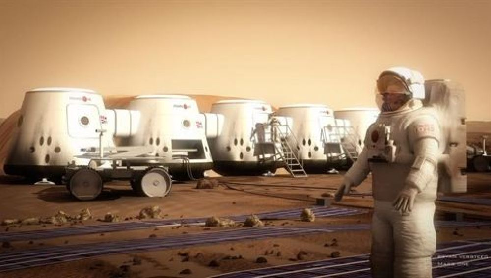 Asentamiento humano en Marte