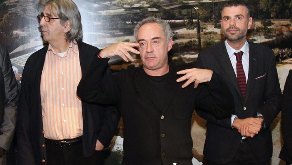 El chef Ferran Adrià