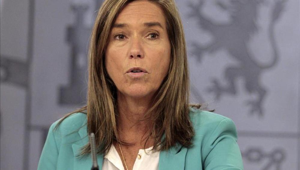 Ana Mato, la ministra de Sanidad