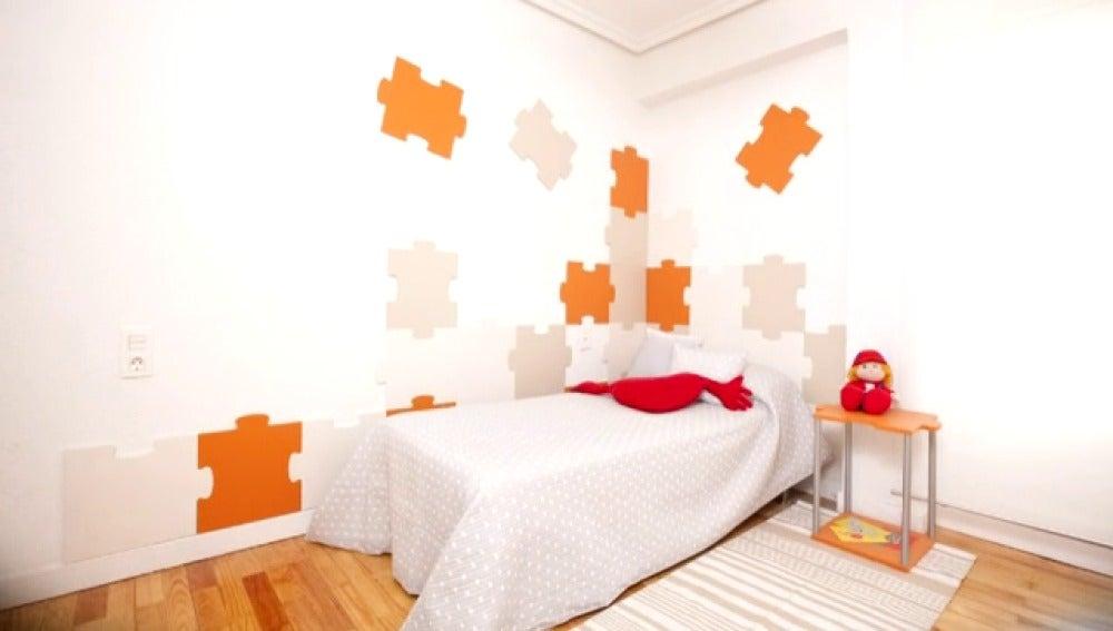 Antena 3 tv decoramos un dormitorio juvenil con fichas de puzzle - Decogarden habitacion juvenil ...