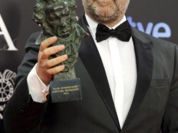Javier Cámara, mejor actor por 'Vivir es Fácil con los Ojos Cerrados'
