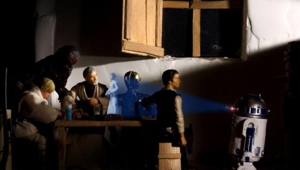 Recreación de 'La vocación de San Mateo' de Caravaggio