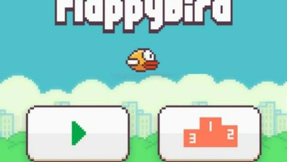 Captura de Flappy Bird