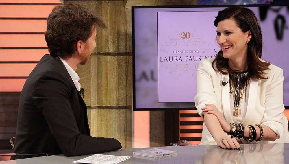 Laura Pausini en El Hormiguero 3.0