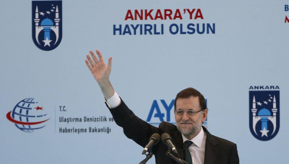 Rajoy en Turquía