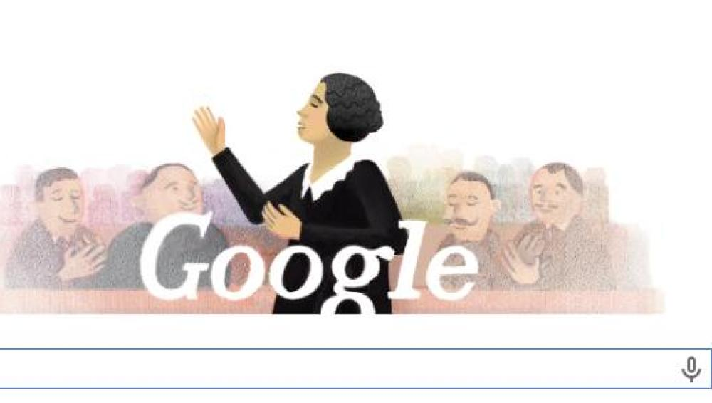 126 aniversario del nacimiento de Clara Campoamor
