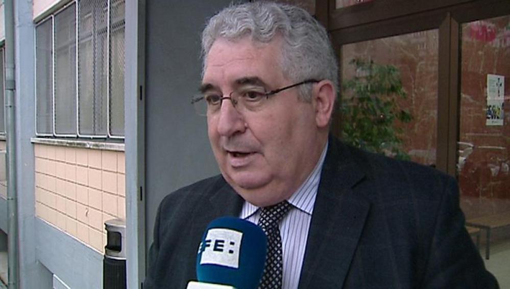 El director del colegio Valdeluz, Eustaquio Iglesias.