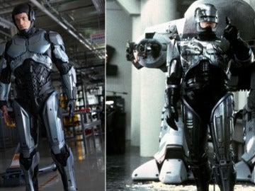 Así es el traje de Robocop