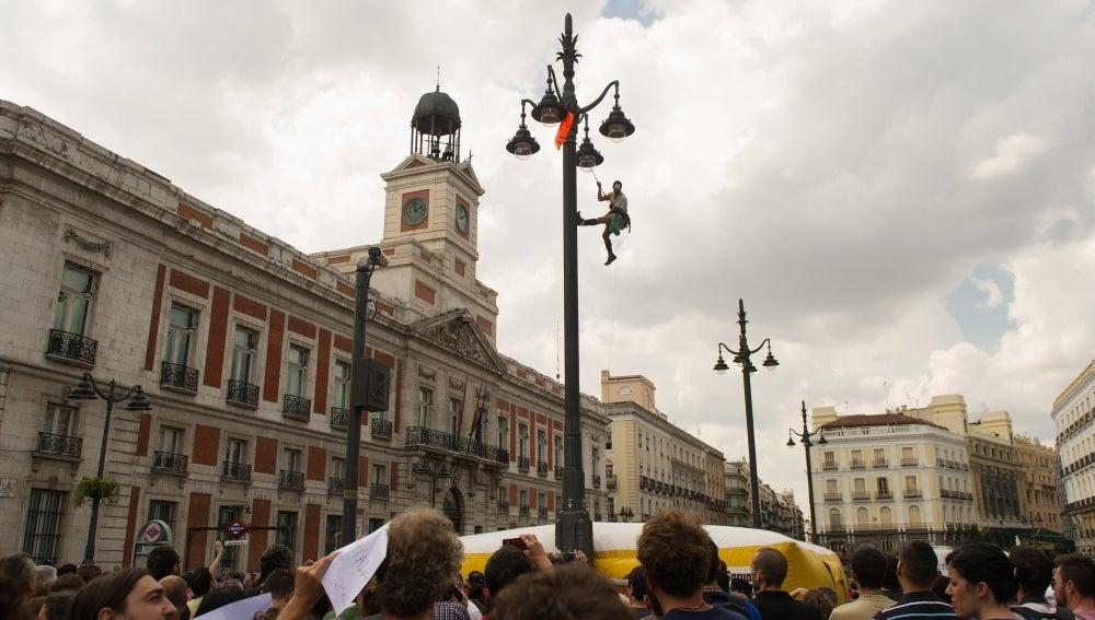 Manifestación en la Puerta del Sol