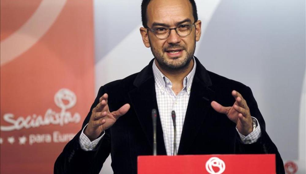Antonio Hernando, secretario de Relaciones Institucionales