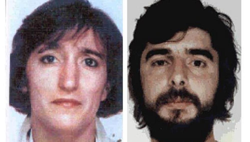 """Juan Jesús Narváez Goñi, alias """"pajas"""", e Iciar Alberdi Uranga, alias """"María"""""""