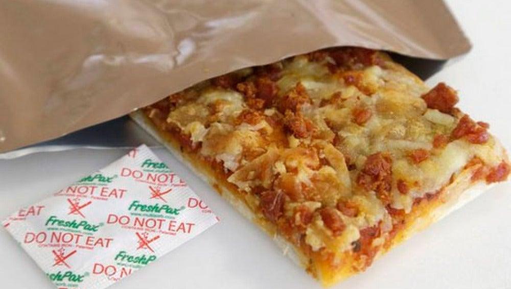 La pizza creada por el pentágono