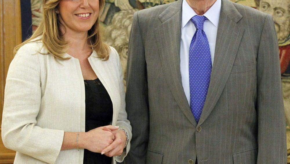 El Rey con Susana Díaz
