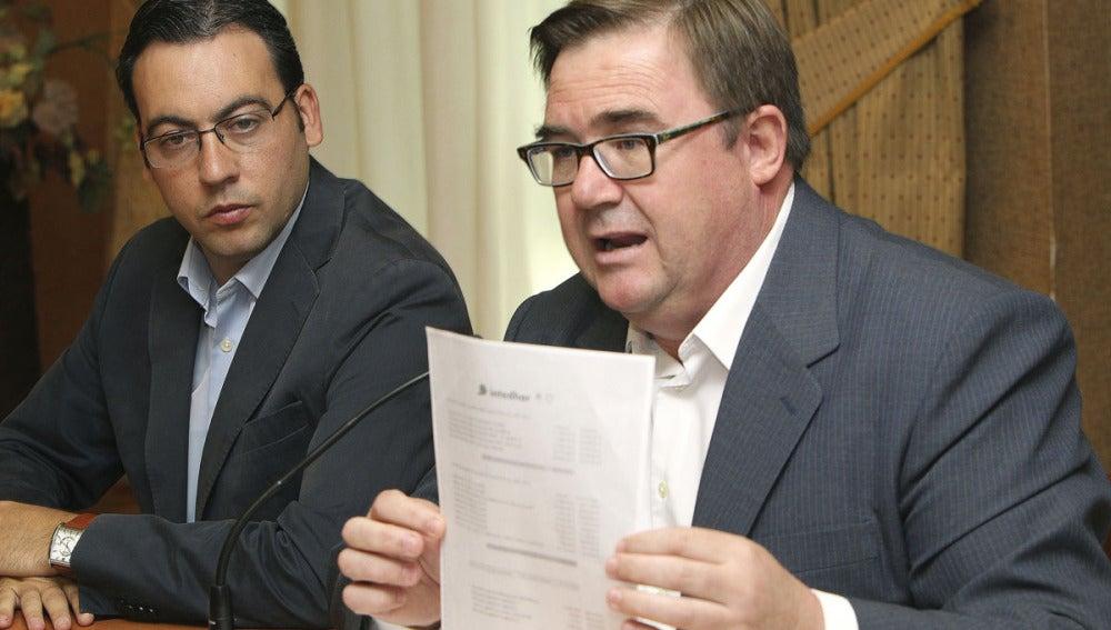 Alcalde y teniente de alcalde de Alcázar de San Juan