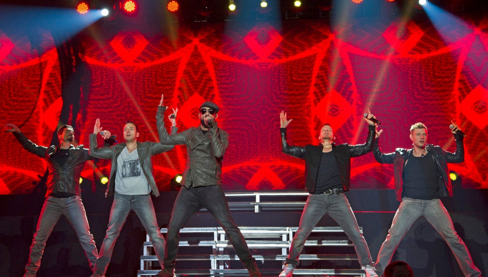 Backstreet Boys en Madrid el 19 de febrero