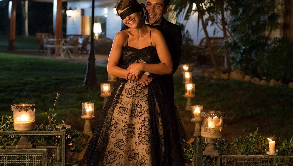 Alberto le ha preparado una romántica sorpresa a Ana