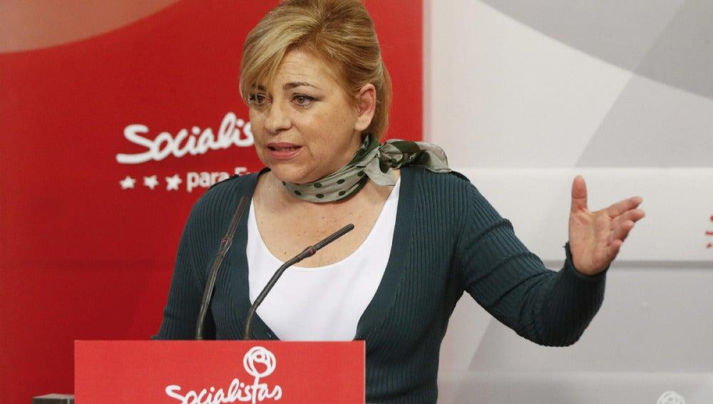 Elena Valenciano, vicesecretaria general del PSOE