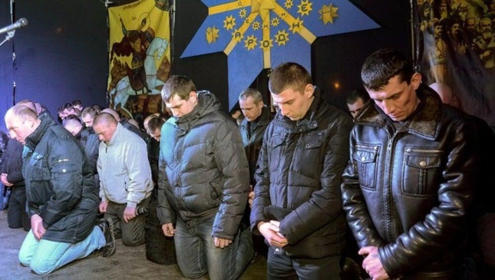 Aplazada hasta el jueves la formación del nuevo gobierno de unidad nacional en Ucrania