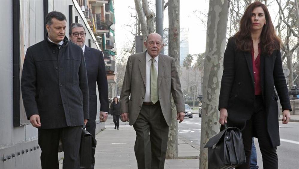 Millet llega a la Audiencia de Barcelona para afrontar su primer juicio por el caso Palau.