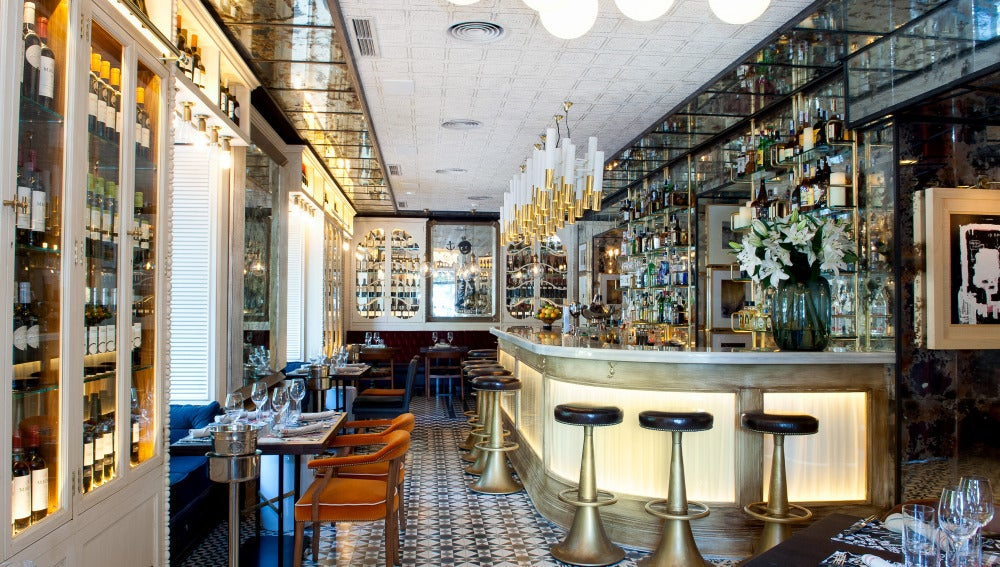 Interior de Punk Bach, uno de los nuevos restaurantes de lujo de la Castellana.