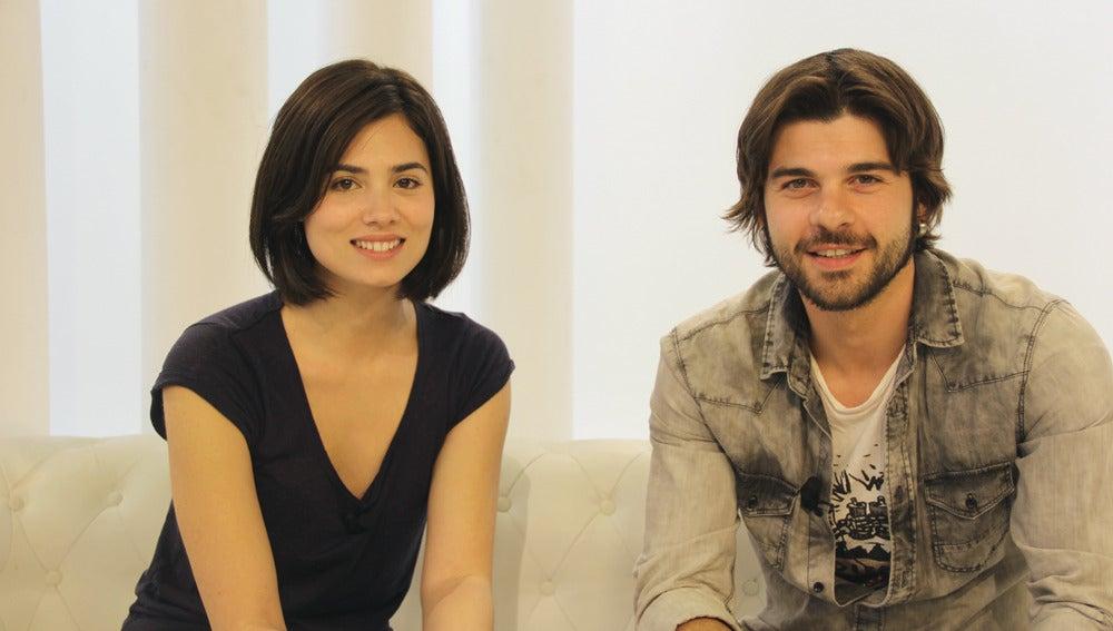Jordi Coll y Loreto Mauleón