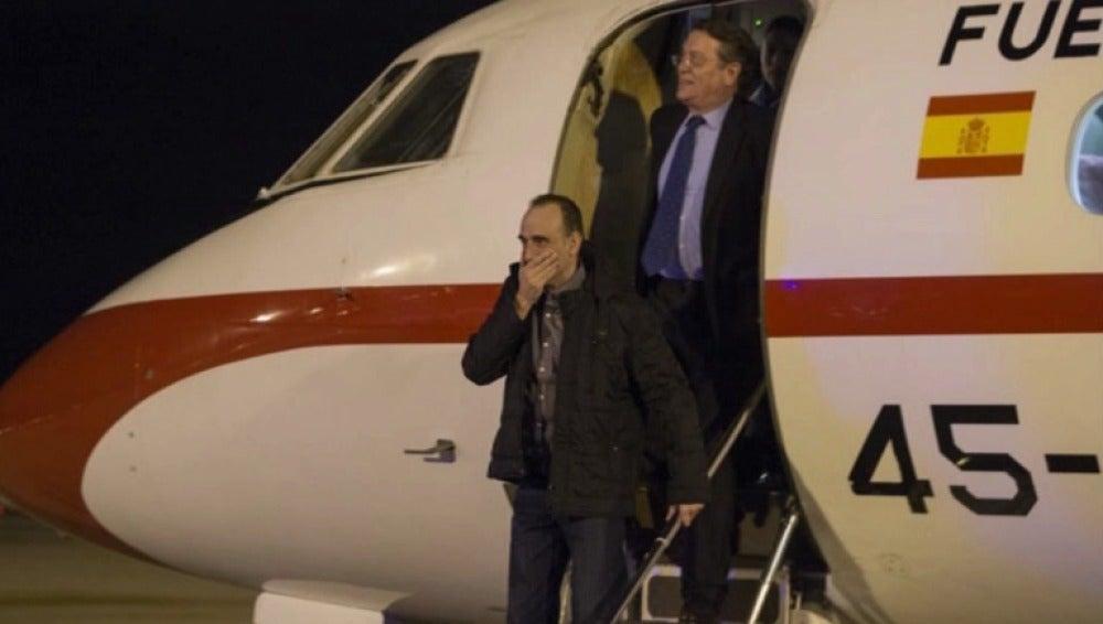 El periodista Marc Marginedas llega a Barcelona tras su secuestro en Siria