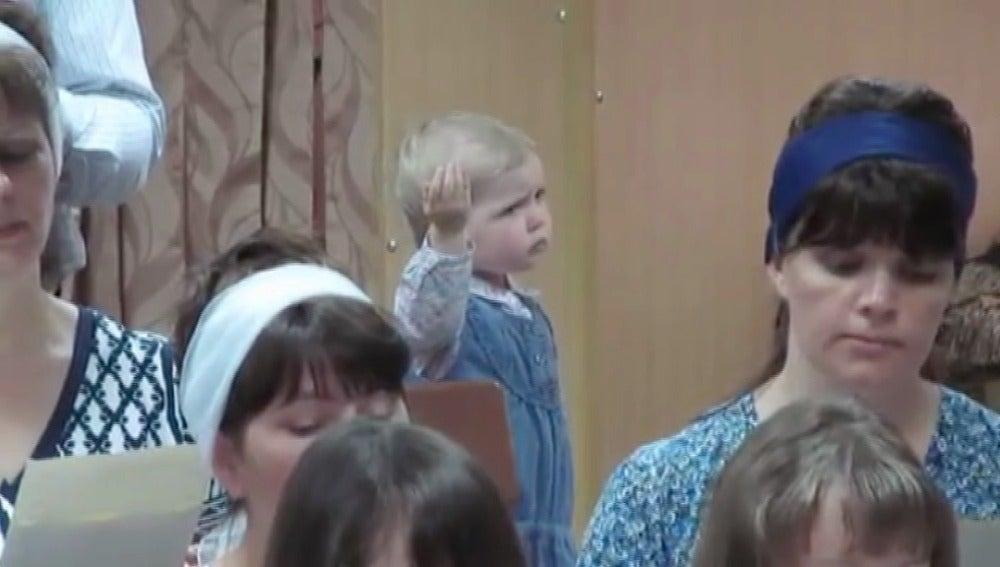 La pequeña directora de orquesta