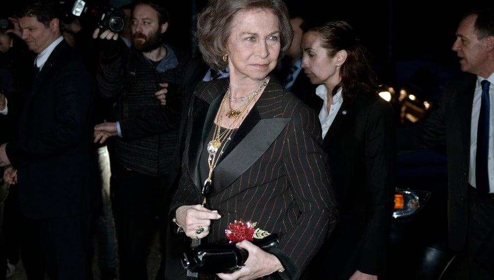 Doña Sofía en Grecia