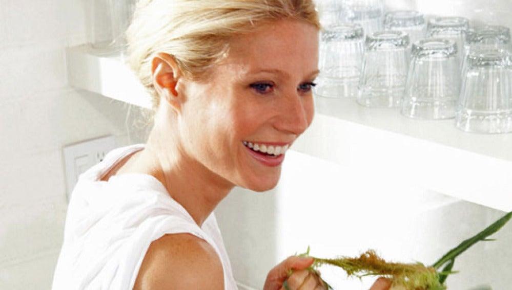 Gwyneth Paltrow es una consumada cocinera con varios libros publicados.