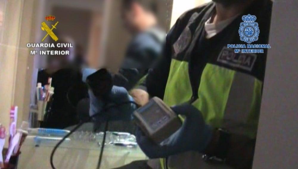 Desarticulados dos grupos criminales  que 'reventaban' cajeros automáticos