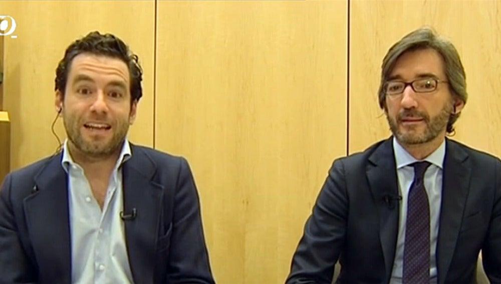 Borja Sémper e Iñaki Oyarzábal