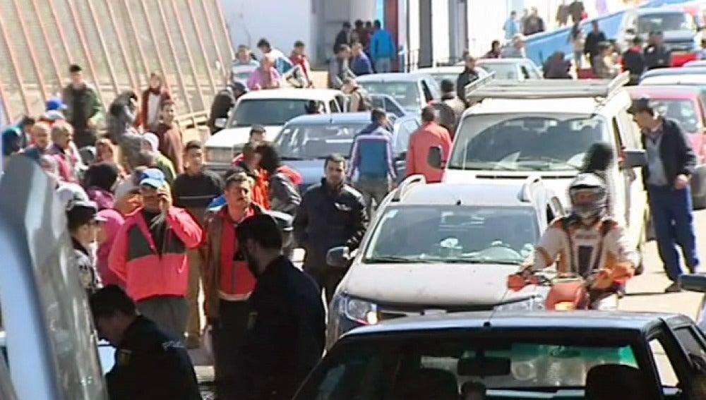 Frontera entre Marruecos y Melilla