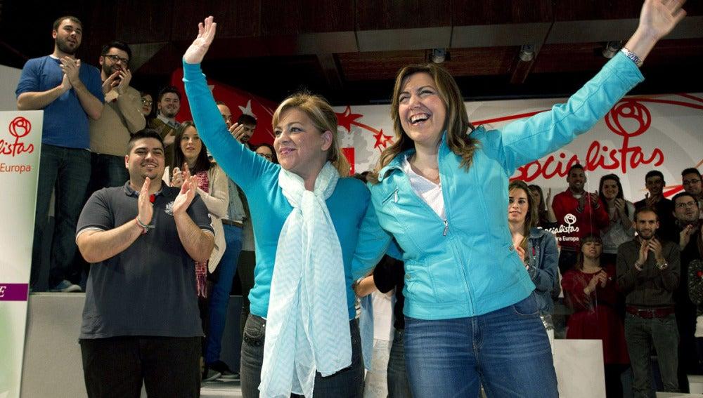 Elena Valenciano y Susana Díaz