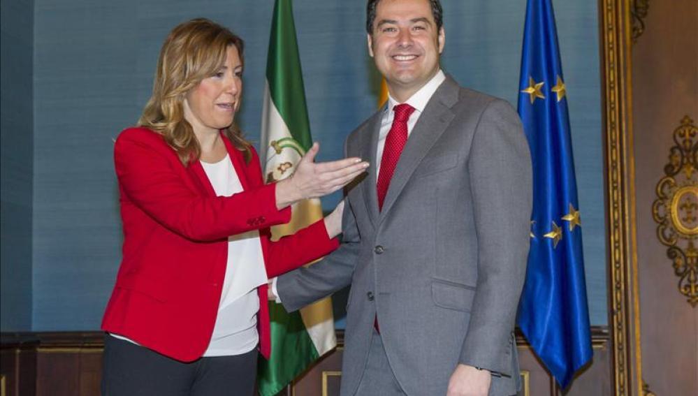 """Díaz y Moreno """"rompen el hielo"""""""