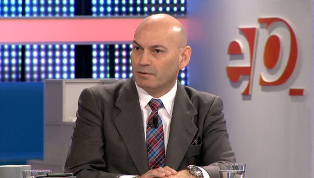 El juez de la Audiencia Nacional Javier Gómez Bermúdez visita Espejo Público