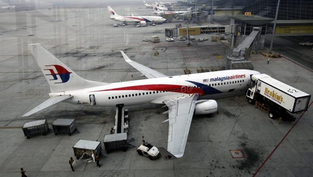 Vista general de los aviones de Malaysia Airlines.