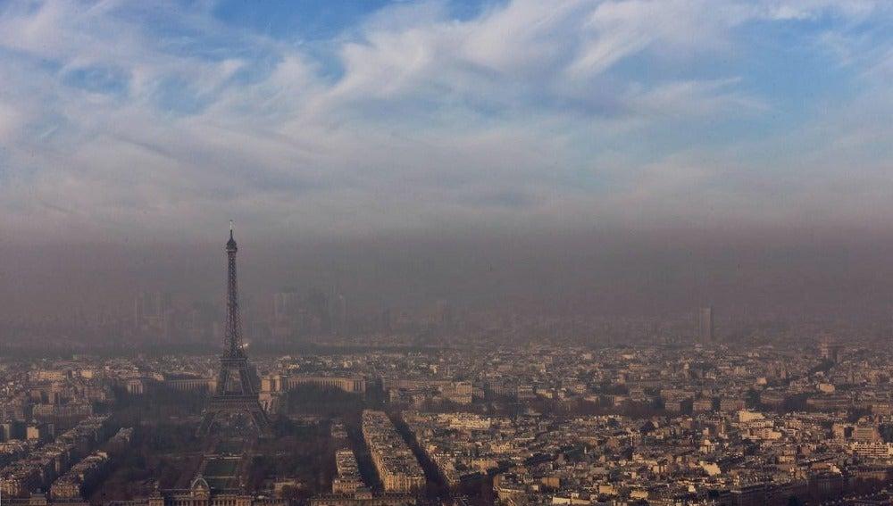 París, envuelta en una nube de polución