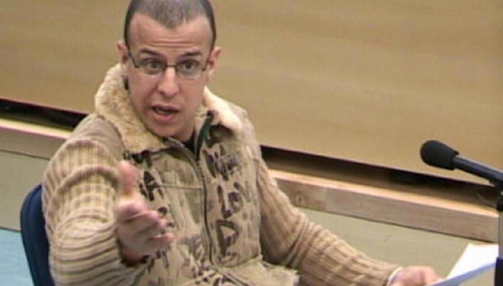 Zouhier, exconfidente de la Guardia Civil