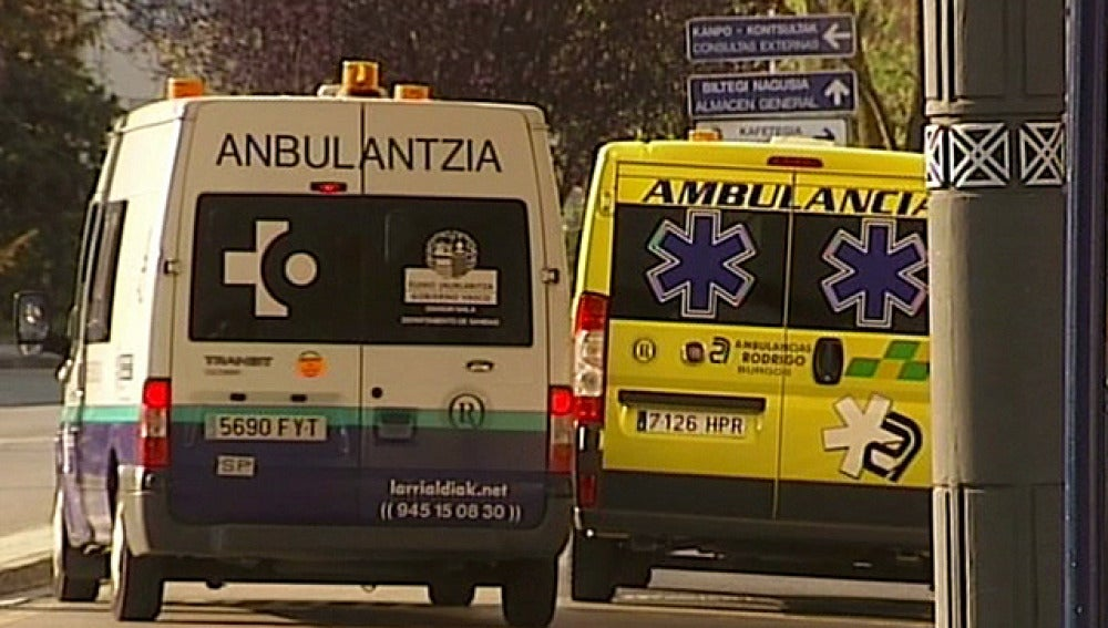 Una ambulancia del País Vasco