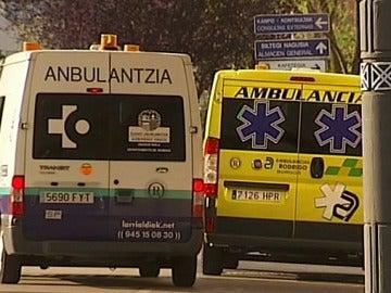 Una ambulancia del País Vasco