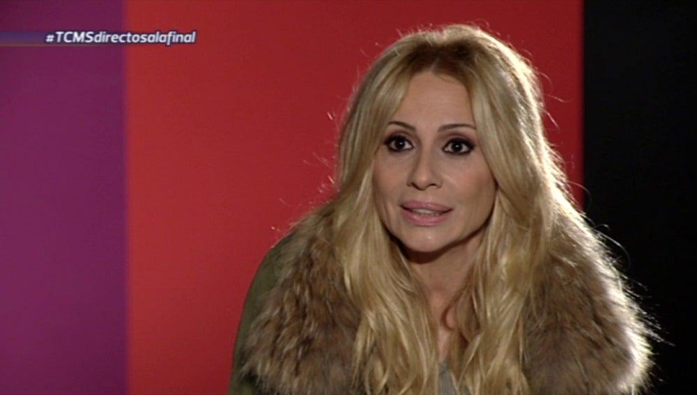 Marta Sánchez se inicia como jurado