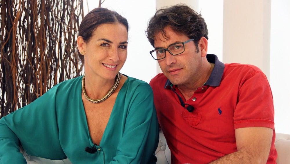 Antonio Garrido y Belén López
