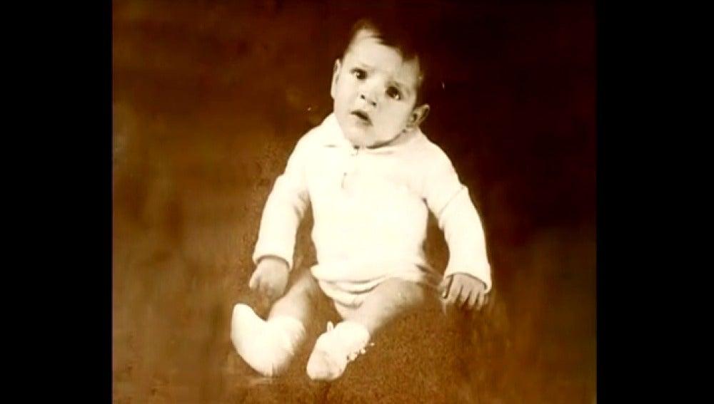 Adolfo Suárez durante su infancia